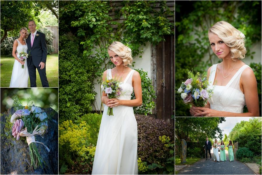 bride at the english wine centre alfriston