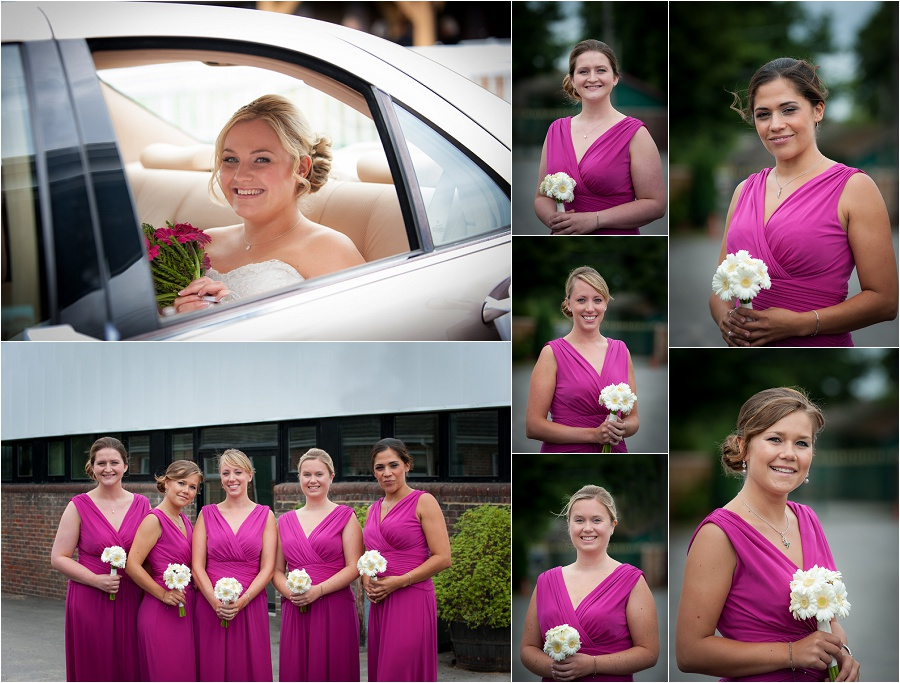 bridesmaids at plumpton