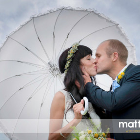 bride & groom portrait