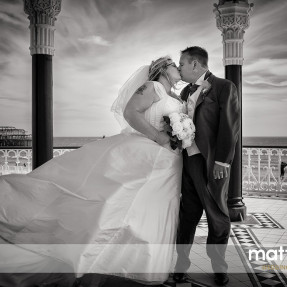 Brighton Bandstand, Wedding photography, East Sussex
